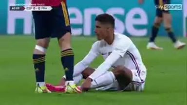 Varane limps out of Nations League final