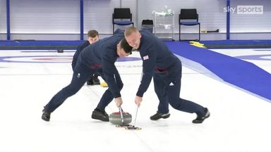 Team GB curling 'confident' after Olympic squad named