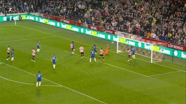 Mbeumo hits the post, Lukaku goal disallowed