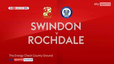 Swindon 2-2 Rochdale