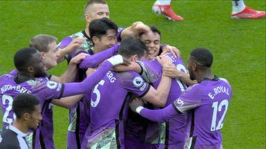 HT Newcastle 1 - 3 Tottenham