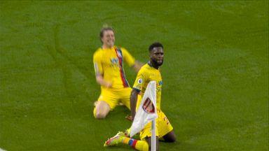 Edouard thunders Palace into lead