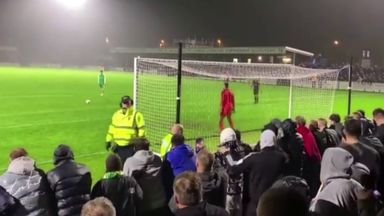 Hilarious penalty miss in Yeovil match