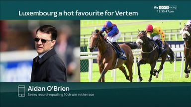 O'Brien 'delighted' with Luxembourg ahead of Vertem Futurity