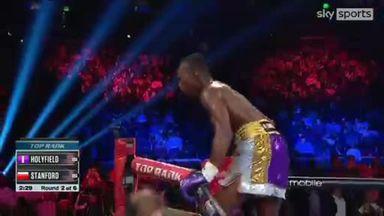 Big KO for Holyfield junior