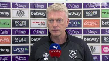 Moyes: West Ham players were fantastic