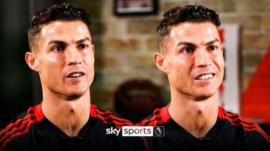Ronaldo on Man Utd, retiring & achieving more