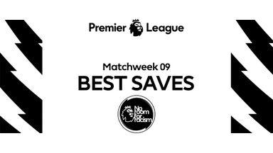 PL Best Saves MW9: Schmeichel, Martinez, de Gea