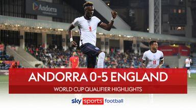 Andorra 0-5 England