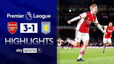 Smith Rowe stars as Arsenal overwhelm Villa