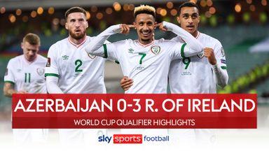 Azerbaijan 0-3 Ireland