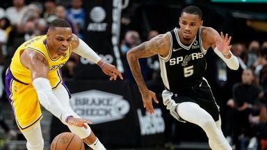 NBA Wk2: Lakers 125-121 Spurs (OT)