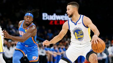 Curry shows his class with superb three