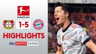 Leverkusen 1-5 Bayern Munich