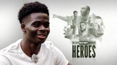 Black History Month - Heroes: Saka
