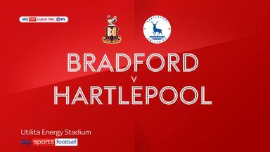 Bradford 1-3 Hartlepool