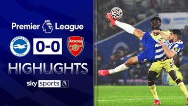 Arsenal hold Brighton in goalless draw