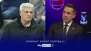 'Totally wrong' - Neville on Newcastle's Bruce treatment