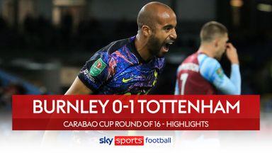 Burnley 0-1 Tottenham