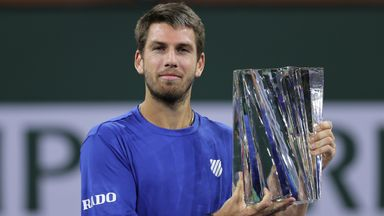 Highlights: Norrie secures historic  Indian Wells title