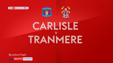 Carlisle 0-1 Tranmere