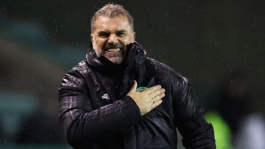 Postecoglou praises 'outstanding' Celtic
