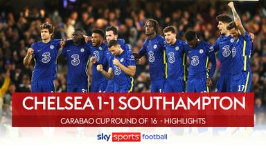 Chelsea 1-1 Southampton (4-3 pens)
