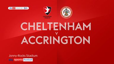 Cheltenham 1-0 Accrington