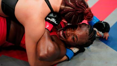 Shields suffers first MMA loss