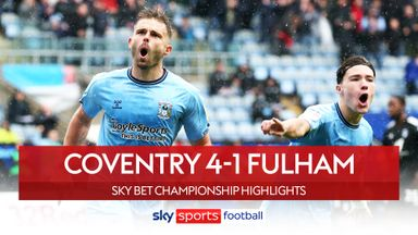 Coventry 4-1 Fulham
