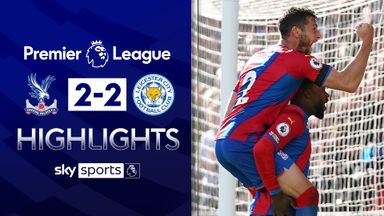 Subs earn Palace comeback point against Foxes
