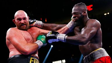 White: Fury v Wilder 3 was incredible!