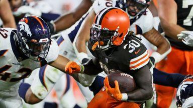 168 yards & TD! Johnson's dream first NFL start