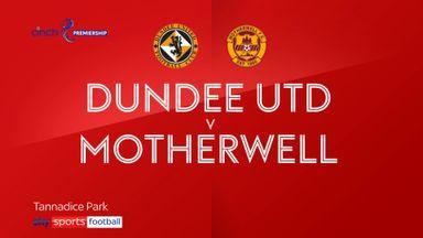 Dundee Utd 2-1 Motherwell