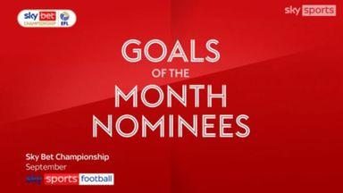 Championship GOTM nominees: September