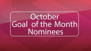 WSL Goal of the Month Nominees: October