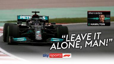 Hamilton's radio rage after Mercedes pit stop
