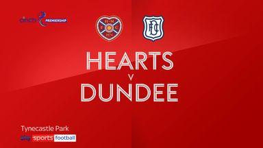 Hearts 1-1 Dundee