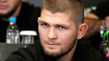 Khabib's message to Fury after Wilder win