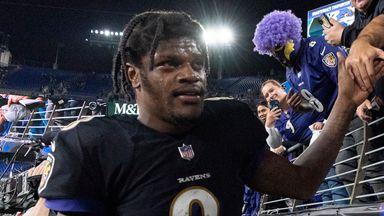 Jackson lighting up the NFL