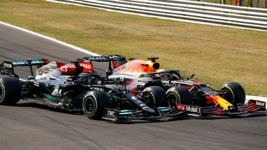 Hamilton 'excited' for wheel-to-wheel racing