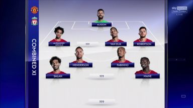 Nev & Carra's combined Man Utd & Liverpool XI
