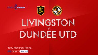 Livingston 1-1 Dundee Utd
