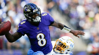 Highlights: Chargers 6-34 Ravens