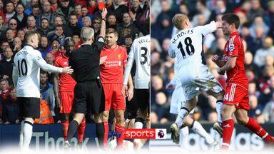 Man Utd v Liverpool: Dramatic dismissals