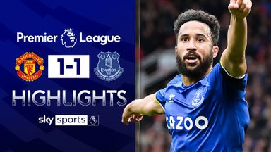 Townsend strike earns Everton a point at Utd