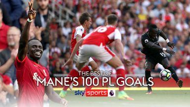 Sadio Mane's best PL goals