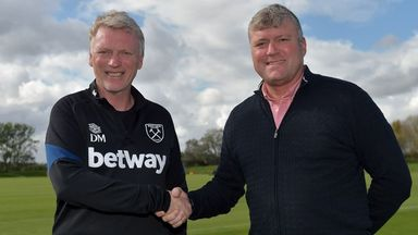 Moyes pleased with Hammers recruitment boost