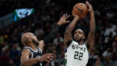 NBA Wk1: Nets 104-127 Bucks