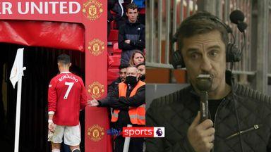 Neville: Ronaldo's actions put pressure on Ole